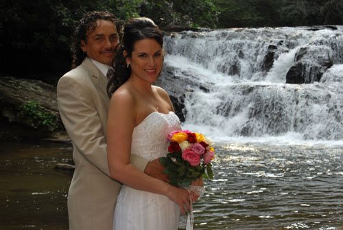Waterfall Weddings in Georgia